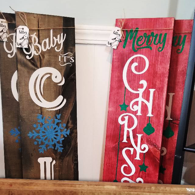 Christmas Porch Boards