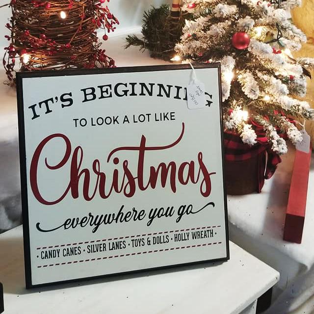 Custom Christmas Signs