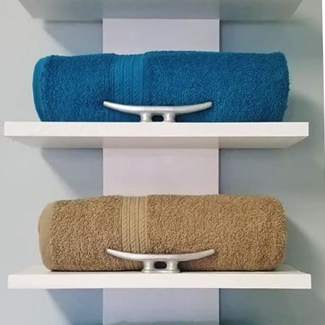 Custom Towel Rack White