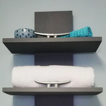 Custom Towel Rack Gray