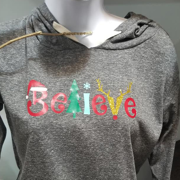 Believe Christmas Sweater